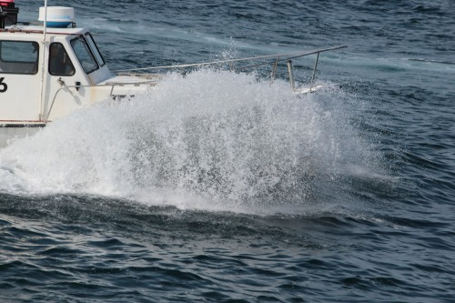 Lobster Fishing Boat off Provincetown 2014